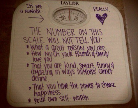 The Scale is Just a Number